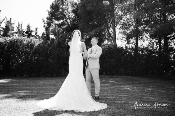 Birde and groom